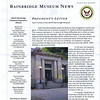 A message from the new president of USNTC BAINBRIDGE MUSEUM, Wayne Hill.<br /> <br /> GRAND RE-OPENING!<br /> <br /> On Saturday, August 17, 2013 the USNTC BAINBRIDGE MUSEUM will celebrate their NEW HOME!  Please plan on attending between 1:00 p.m. - 5:00 p.m.<br /> <br /> The Museum HAS MOVED downtown to a NEW LOCATION at 6 South Main Street, at the corner of South Main Street and Jacob Tome Highway, Port Deposit MD, and is NOW OPEN.<br /> <br />  USNTC BAINBRIDGE HISTORICAL ASSOCIATION<br />  P.O. Box 65 Port Deposit MD 21904<br /> <br />  Volume 13, Issue 1 - Spring Newsletter 2013<br /> <br />  To better view the article, click on image and choose 'Original' or 'X3Large' from the size chart.<br />  <br /> BECOME A MEMBER and support the efforts of the USNTC BAINBRIDGE HISTORICAL ASSOCIATION