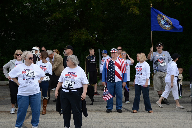 Judd Kendal VFW Post 3873 - Naperville, Illinois - 1st Annual .1K Judd-A-Thon - September 21, 2014