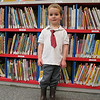 "3 year old Ben: ""He had to dress up to come to the library""!"