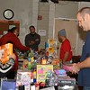 Milpitas Firefighters/Food Pantry distribution 12-20-14. Fire Fighter David Snavely