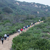 Hike Little Sycamore Canyon Trail in Laguna Wilderness Park with Saddleback Church Hiking Ministry