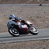 BSA Rocket 3 at Willow Springs