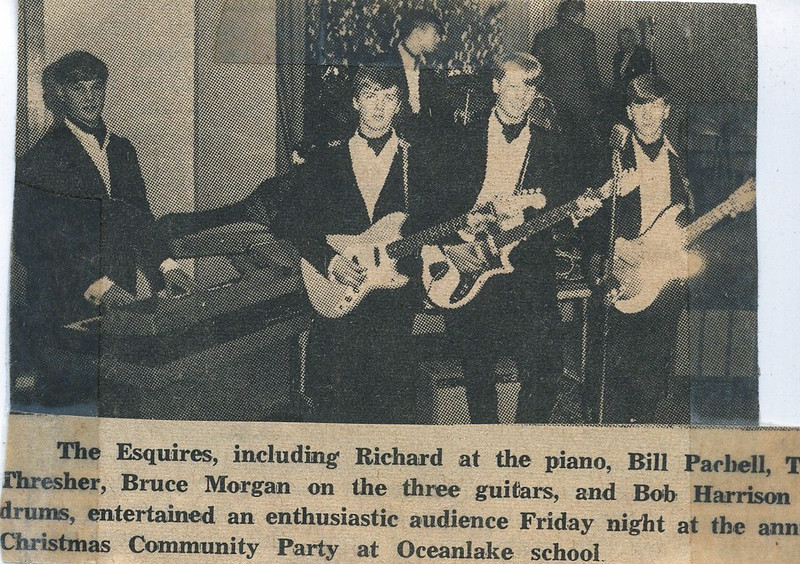 1967; richard rouske, bill pacholl, bob harrison, ton thresher, bruce morgan; the esquires