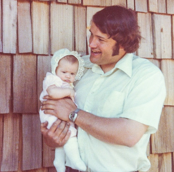 1978; 10 year class reunion; barry hatfield & daughter