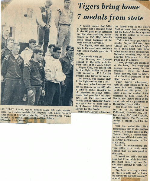 1968_05_25; writeup from state track meet