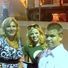 Picture with Megan Hilty After Wicked Performance