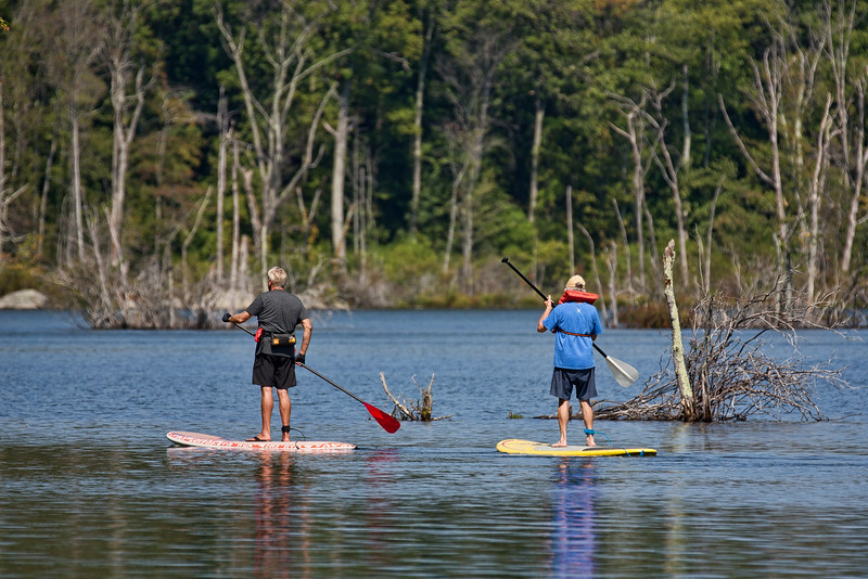 Stand Up Paddleboarding (color version)
