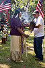 Smudging Before Entering Circle  20 July 2013RIIC Powwow - Roger Williams ParkProvidence, Rhode Island
