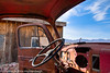 Old Car in Ghost town Rhyolite, Nevada, USA  Filename: CE4001501-Rhyolite-NV-USA-EDIT.jpg