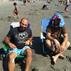 A day of fun at the beach with the Annantuoios!  Tidal pools, swimming, laughter, and something unexplained on Mike's leg!