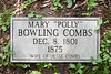 """Mary """"Polly"""" Bowling Combs"""