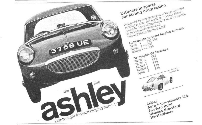 Ashley Motorsport 1966 October