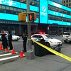NYPD Close 7th Avenue Because of a suspicious package on a NYC Bus