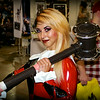 Bree Halili as Harley Quinn at Wizard World ComicCon Phila 2014