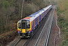 12th Dec 06:  Desiro 450115 nears Virginia Water