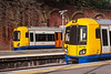 4th Aug 13:  London Overground pair 378154 & 378144 stand at Crystal Palace