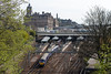 26th Apr 14:   334022 leaving platform 16 at Edinburgh Waverly with 2M35 the 10.07 to Milngavie