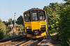 31st Aug 14:  150002 has been working in the West Country for the summer but will shortly return to Reading to continue it's normal duties.  Captured in lovely light as it slows for the Dilton Marsh stop it is working 1V96 the 15.46 from Brighton to Bristol Temple Meads
