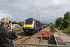 29th Aug 14:  43005 at the photo gallery spot at Swindon with the 11.48, 1B28, from Paddington to Swansea