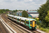 2nd Jul 14:  377149 is forming 1N69 the 12.23 from Brighton to Southampton is approaching the Mount Pleasant level crossing