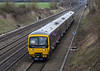 21st Feb 2015:  Health and Safety gone mad!!   166215 on the 13.21 Paddington to Great Malvern at Shottesbrooke