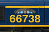 27th Jan 2015:  66738 now carries a name plate that is a replica of that carried by LNER 4-6-0 61653 until it was withdrawn in 1960 .  A number of other GBRf Class 66 have been named in a similar fashion