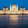 Hungarian Parlament at Night, Budapest