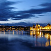 Evening on the Vlatava, Prague, Czech Republic