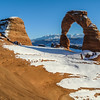 Delicate Arch on the Red Rocks, Arches