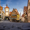 Deutsches Idyll, Rothenburg-ob-der-Tauber, Germany
