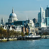 Old and New London Skyline, England