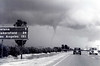 Funnel cloud - California HWY 99