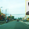 BACOLOD. Rep. Anthony Golez Jr. (inset) says that he worked hard to get projects for Bacolod City such as the road widening being implemented by DPWH from Lopue's East to Espinos Village in Brgy. Taculing. (Carla N. Canet)