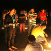 Bacolod City Water District employees hold a prayer vigil