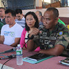 ZAMBOANGA. International Monitoring Team head Zolkipli Hashim warns MILF group against putting up of Bangasamoro Political Office in Cawit, Zamboanga City while Mayor Ma. Isabelle Climaco-Salazar and Vice Mayor Cesar Iturralde listen intently. (Bong Garcia)
