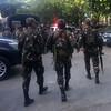 Army soldiers in full battle gear