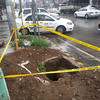 Diggings for new traffic lights in CdeO