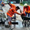 Canal clean-up in Davao City