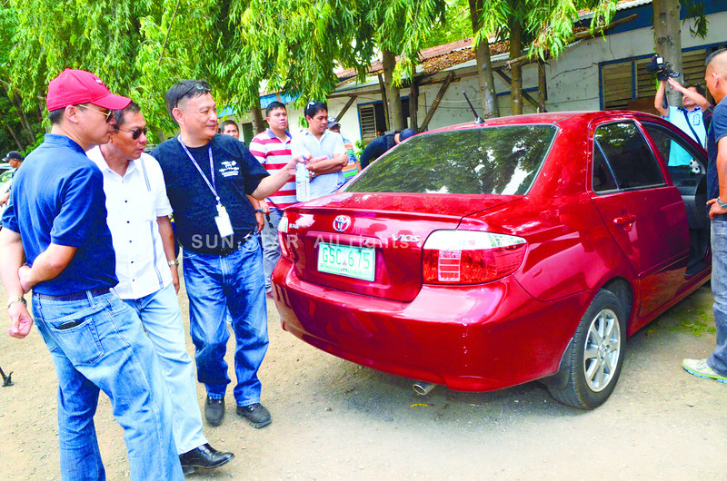 Car used in fatal ambush of Atty. Noel Archival