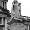 Statue of Queen Victoria in the grounds of City Hall, Belfast.