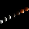 Blood Moon Eclipse Sequence