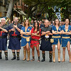 August 16, 2014, The Battle and the final day of the  Moors and Christians (Moros y Cristianos) Festival in Denia, Alicante, Spain