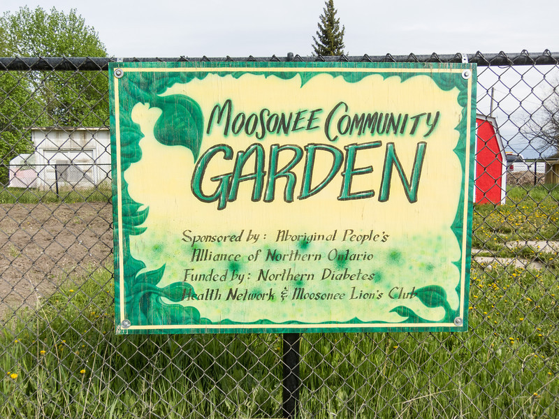 Moosonee Community Gardens.