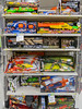 Good selection of toy guns.