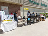 BBQ and promo for diabetes run at Northern Stores Garden Centre in Moosonee.