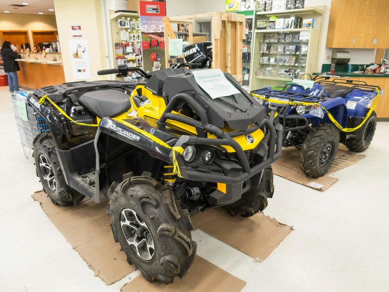 Outlander 650 X MR at Northern Store in Moosonee.