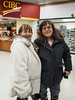 Marilyn Douglas and Denise Metatawabin in Northern Store.
