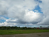 Clouds over Moosonee.