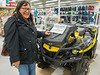 Outlander 650 X MR at Northern Store in Moosonee. Denise Metatawabin.
