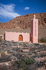 A roadside mosque in the mountains of rural Morocco.
